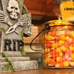 DIY Candy Corn Votive