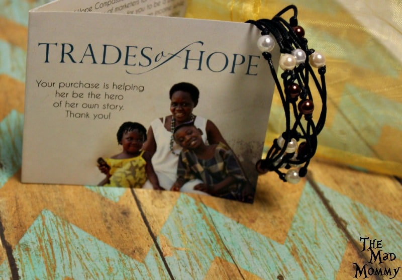Handmade Cambodia Pear Bracelet from Trades of Hope.