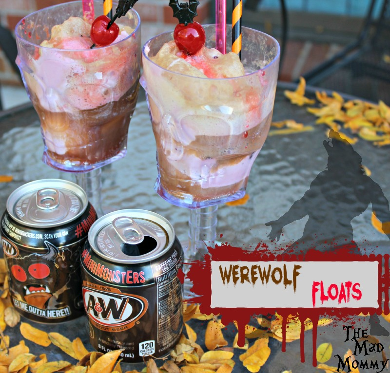 Looking for a spooky, yet delicious Halloween treat? Try these simple, but delectable Werewolf Floats! #BOOItForward #ad #CollectiveBias