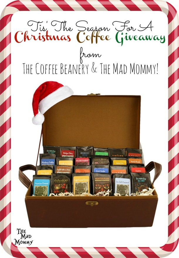 Who doesn't want to win free coffee?! Come enter this Christmas coffee giveaway from The Coffee Beanery and The Mad Mommy!