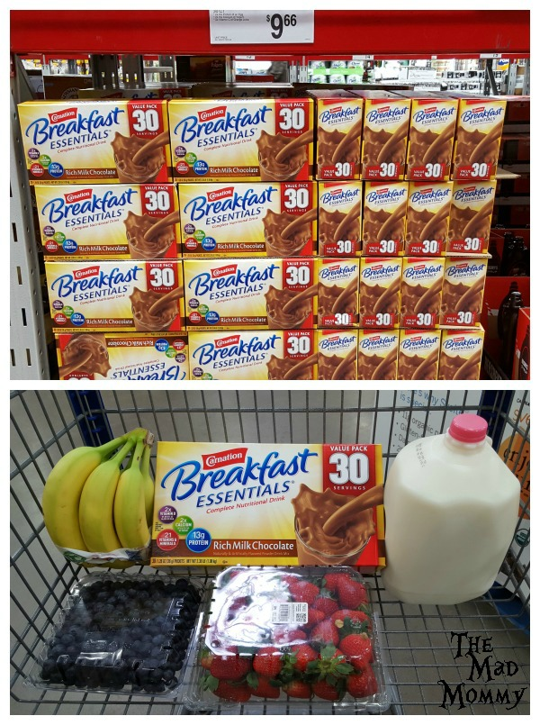 I grabbed a 30 count package of Carnation Breakfast Essentials® Chocolate Powder while I was at Sam's Club. #ad #CarnationSweepstakes #BetterBreakfast #CollectiveBias