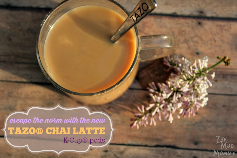 I am finding that I enjoy the new NEW TAZO® Chai Latte K-Cup® pods as an alternative to my coffee. There is something magical and exotic about the flavor. #ad # SweetMeetsSpicy, #ChaiLatte, #KCup, #IC