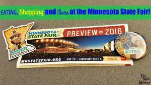 Eating, Shopping and More at the Minnesota State Fair 2016!