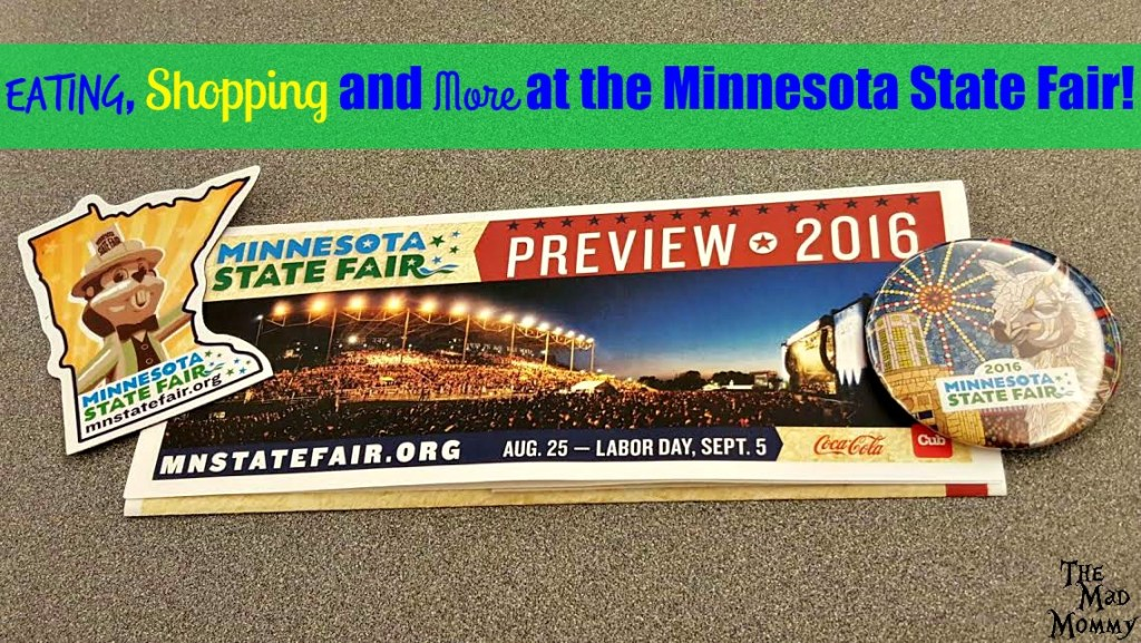 It's Minnesota State Fair 2016 time! Time for fun, friends, food on a stick, and family, but did you know that the Minnesota State Fair is also a great place to shop? Yup! The fair has it all! Eating, shopping and more!