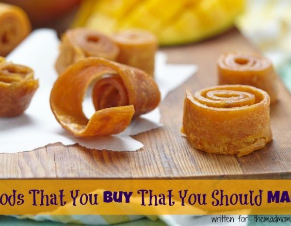 Foods That You Buy That You Should Make