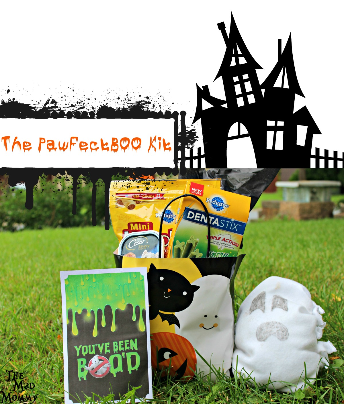 Don't our pups deserve some tricks and treats this Halloween? How about a #PawfectBOO with this puppy-fied BOOKit and DIY Crinkle Toy? #CollectiveBias #BOOItForward #ad