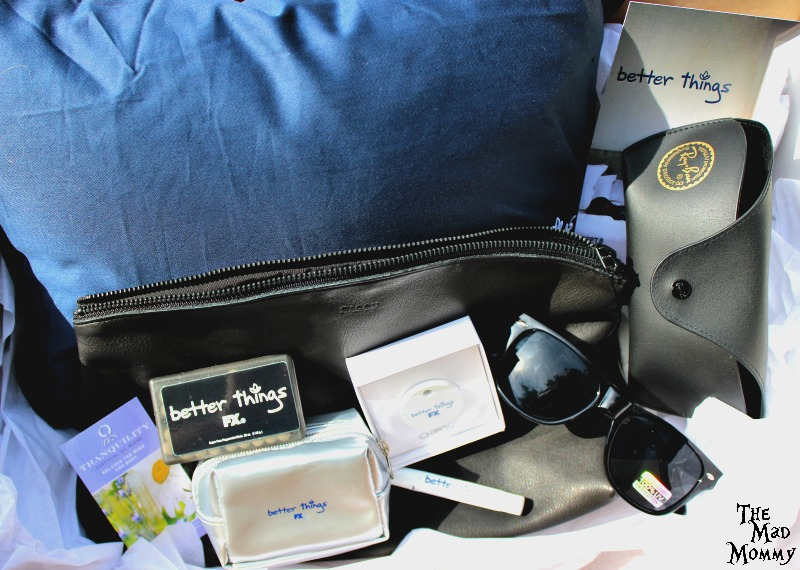 Better Things swag bag/mom bag giveaway! #BetterThingsGiveaway #ad