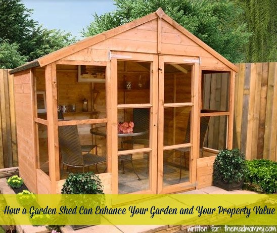 A garden shed is an ideal place to not only store your gardening tools and all related items. It also gives you an opportunity to have a useful, practical and even pretty tiny building on your property.