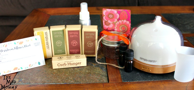 Contents of my Simply Earth Essential Oils Recipe Box!