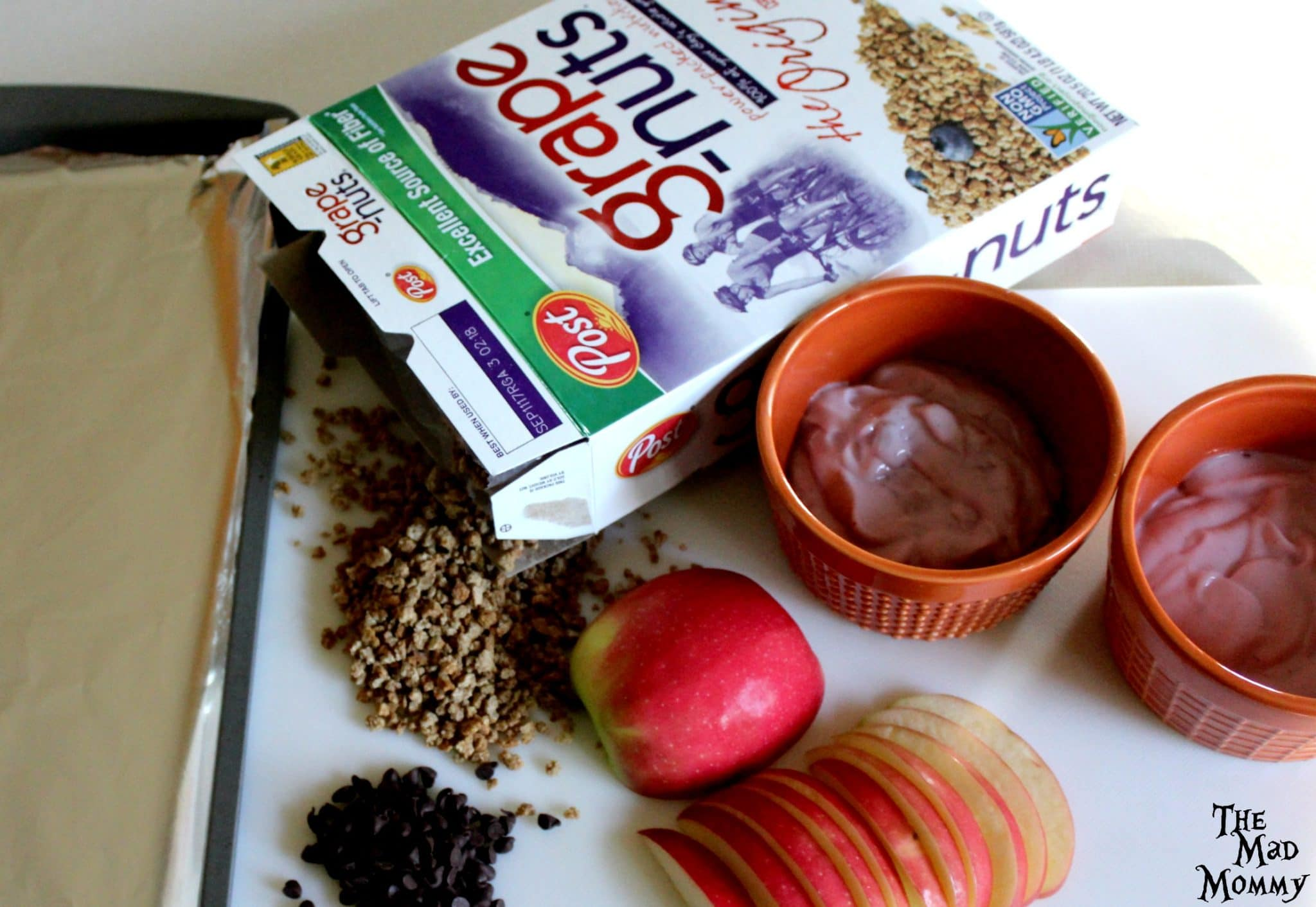 Ingredients for the Frozen Yogurt Apple Slices. #ad #PostForTheHolidays