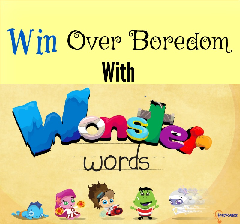Looking for a way to win out over winter break boredom? Then you may want to check out Wonster Words! It's an educational, yet fun application that works on spelling and phonics!
