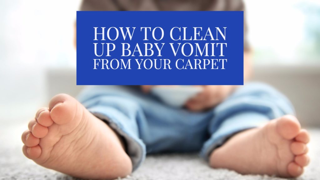 Cleaning up baby vomit is no one's favorite activity, but luckily Sears Clean has some helpful tips that will make the job easier and less dreadful for you! The next time your adorable baby has a not so adorable vomiting accident, consider one of these cleanup options.