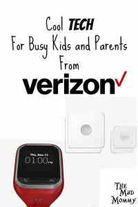 In December, we got the chance to try out a couple of new tech items from the people at Verizon! My son and I got to do a GizmoGadget review and I got the chance to review some Bluetooth Tiles.