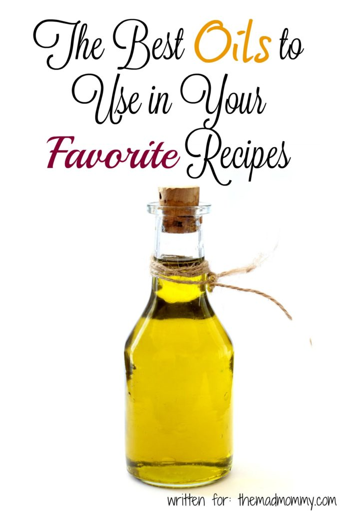 There are plenty of oils you can use in your cooking -- even everyday -- that will give you great flavor without the harmful health risks. Here's a quick guide to choosing oils and some of the best types available.