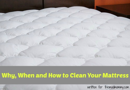 Here is some excellent info on why, when and how to clean your mattress.
