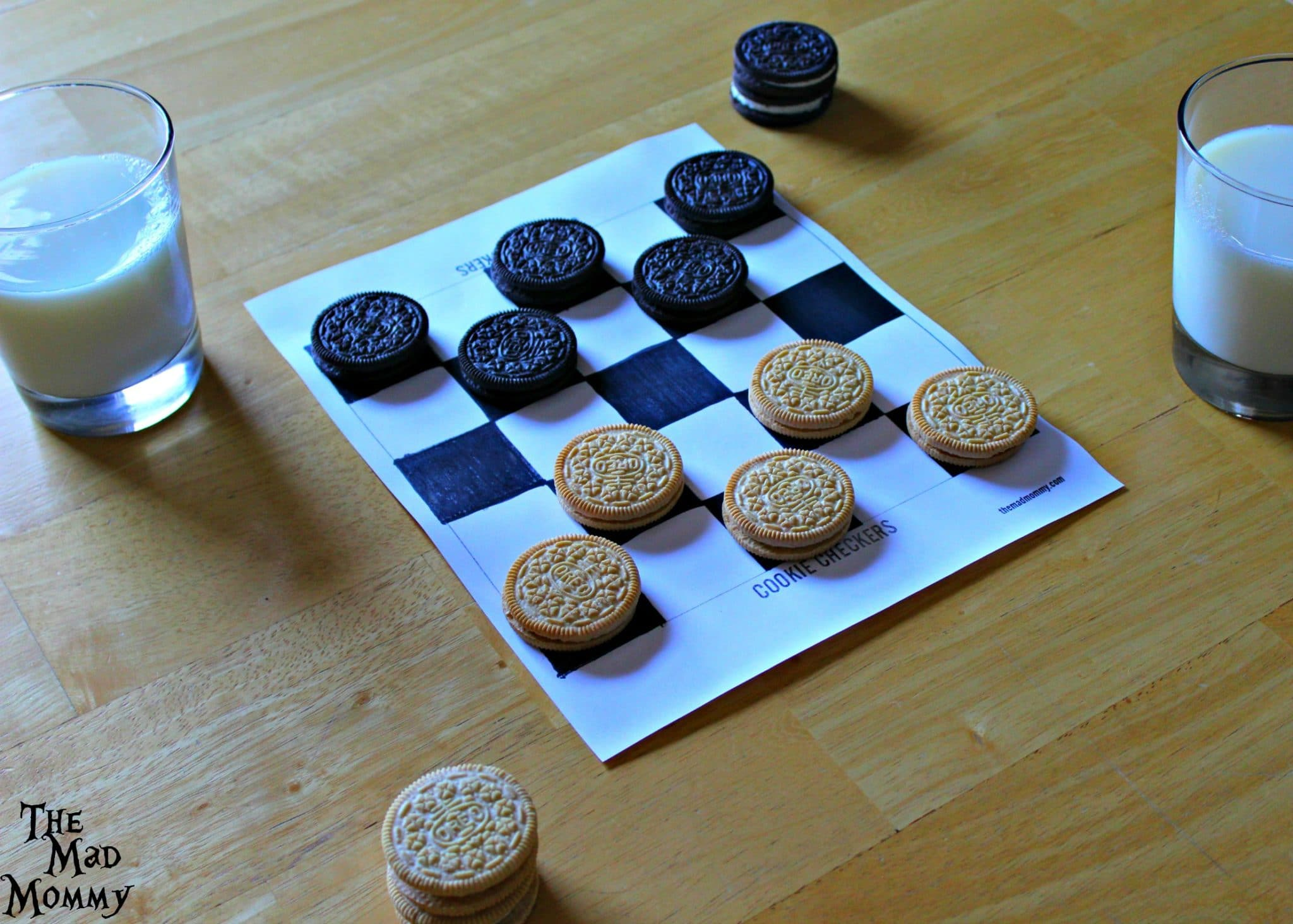 Getting ready to play some OREO Cookie Checkers and get our #OREOSuperDunk on! #Sponsored #CollectiveBias
