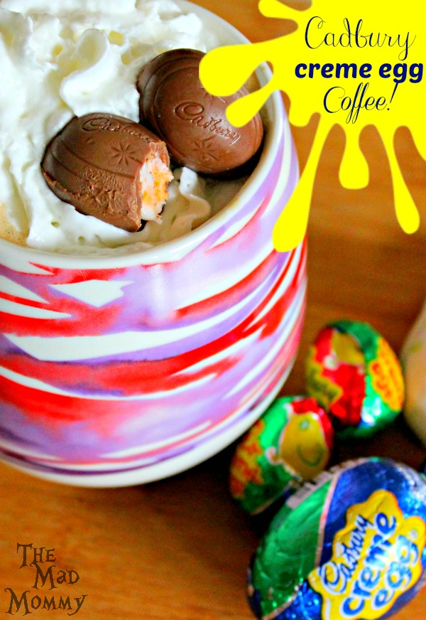 Seeing as Easter is on it's way, I came up with an awesome Cadbury Creme Egg Coffee recipe that will quench your caffeinated needs better than a store bought Mocha! It is rich, creamy and very decadent. Perfect for the holidays, am I right?!