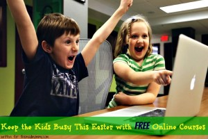 Keep the Kids Busy This Easter with Free Online Courses