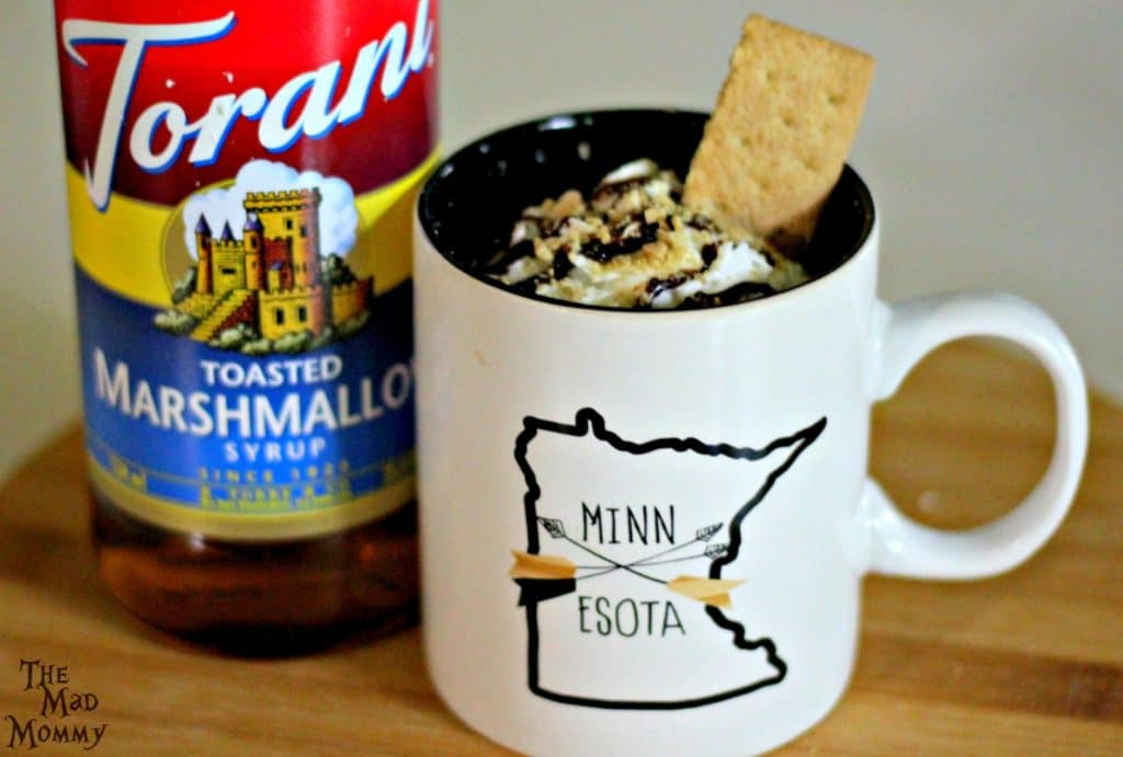 The most delicious Smore Coffee that you can enjoy inside, outside, or wherever you want it!
