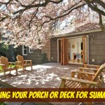 Summer Entertaining: Preparing Your Porch or Deck for Summer Fun