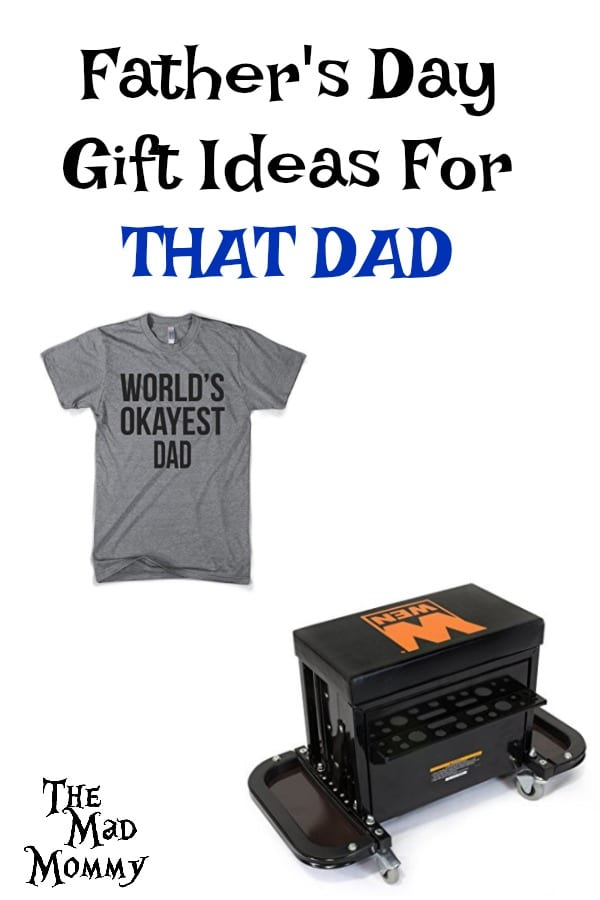 Father's Day is approaching at a rapid rate! Do you have something for the dad in your life or do you have that dad who has everything? What do you get THAT DAD? Here are a few Father's Day gift ideas for THAT DAD!