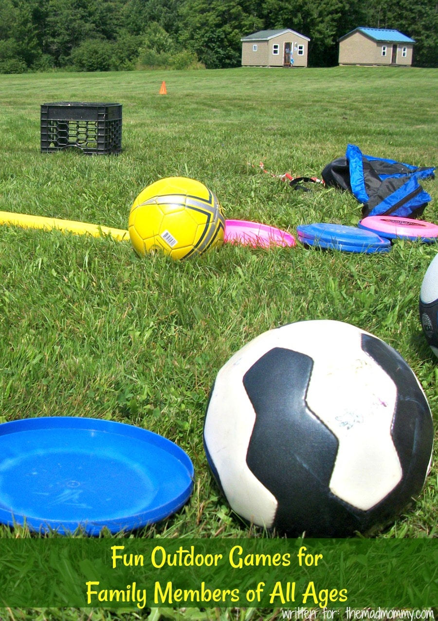 Get outdoors and your hands on the following family-centric, fun outdoor games.
