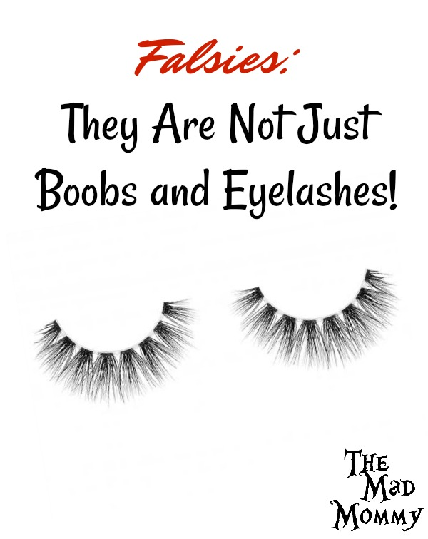 Falsies should really encompass anything that is faked in order to make ourselves feel more beautiful, confident or strong. I wear a lot of falsies, but they are not just boobs and eyelashes.