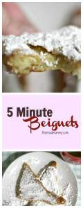 How To Make Beignets In 5 Minutes!