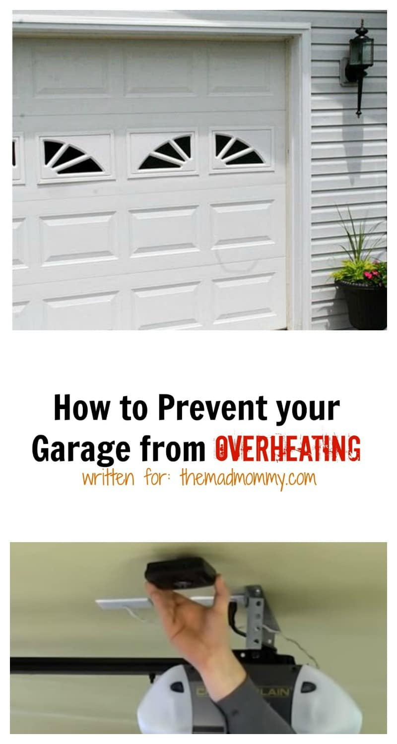 An overheated garage can cause several issues. The first is a hot and uncomfortable car, and the second can even be potential damage to different items or chemicals stored in this area. Luckily, there are some simple ways to prevent your garage from overheating during the summer.
