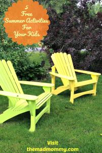 5 Free Summer Activities For Your Kids
