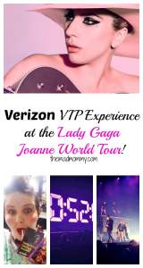 When Verizon asked me if I would like to go to the Lady Gaga Joanne World Tour at the Xcel Energy Center and test out their Verizon VIP Experience, I couldn't say no! Seriously, I couldn't stop fangirling. #VZup #hosted