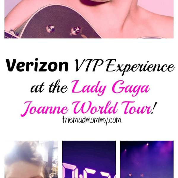My Verizon VIP Experience at The Lady Gaga Concert!