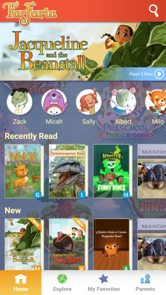 The land of FarFaria is an interactive app that let's kids explore and read different stories! #Sponsored #FarFaria