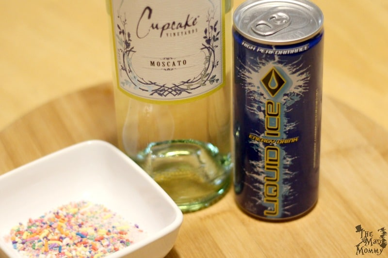 "Caffeine, wine and rainbow sprinkles! What more could you ask for in a ""mom-ish"" cocktail recipe? Well, that is exactly what you get when you enjoy an Iced Cupcake cocktail."