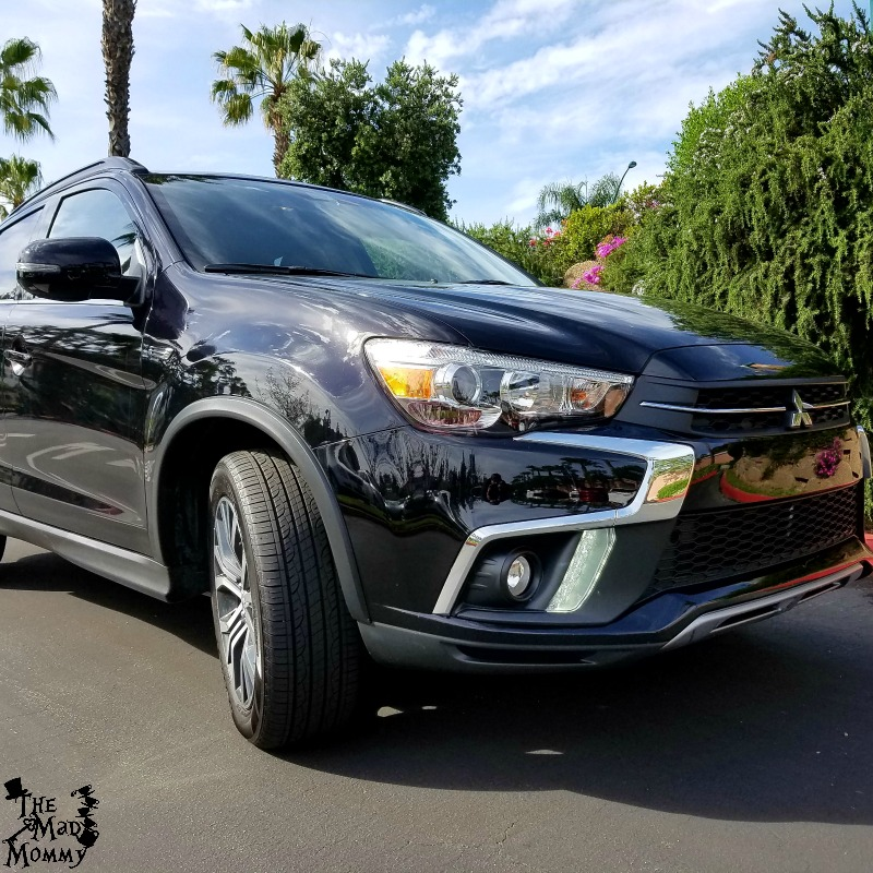 Awesome 2018 Mitsubishi Outlander Sport that we drove in California! #DriveMitsubishi #Sponsored