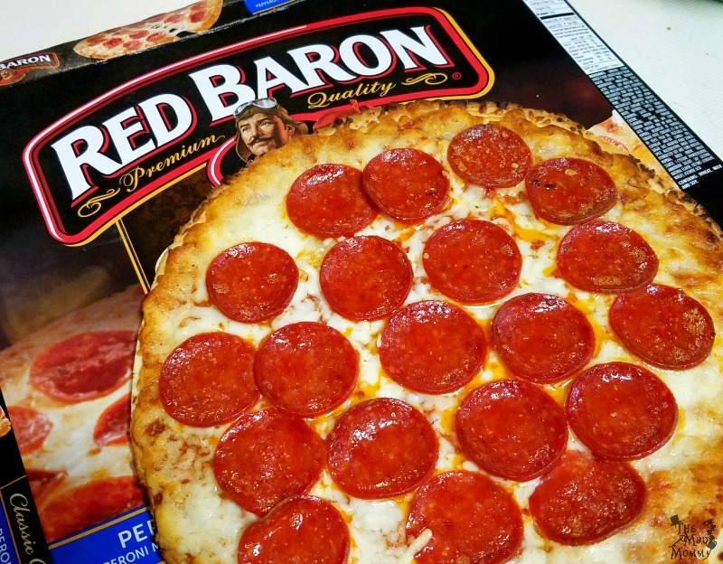 The Red Baron Classic Crust pizza only takes about 12 minutes to cook and it really comes out perfect every time! I also love that it is one of the best quality and best priced frozen pizza at my local grocery store! #Sponsored #NeverFlySolo
