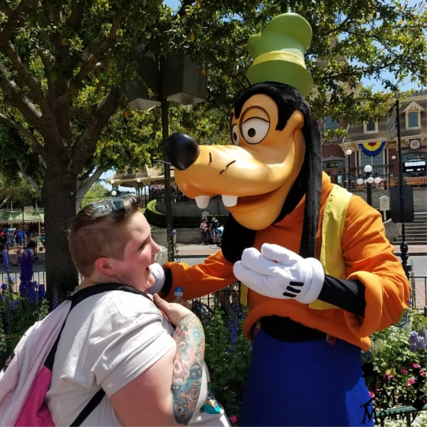 Meeting Goofy at Disney was my first Disney character experience and I loved it!