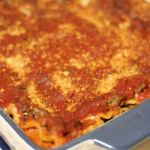 This Lazy Lasagna looks and tastes like it took all day, but it only takes about 15 minutes of prep and 40 minutes in the oven!