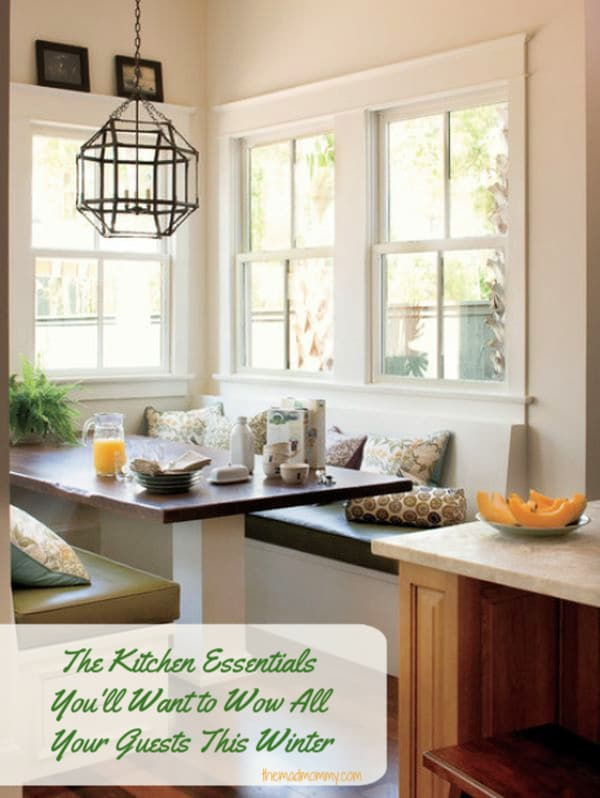 Since the heart of the home is the kitchen, its time to rethink your kitchen for this winter. With some little changes and a few kitchen essentials, you can wow all of your winter guests.