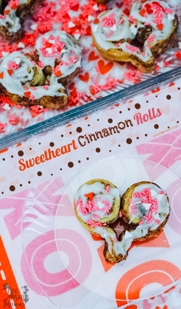 Wouldn't you love to surprise your sweetheart, or sweethearts, with something warm, delicious, ooey, gooey and straight from your heart? Allow me to introduce you to Sweetheart Cinnamon Rolls, straight from the oven and ready for those you are lovin'!