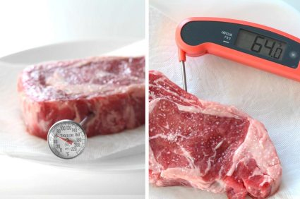 We have prepared a quick all-around guide and a good-looking infographic to go with it so you can get a better understanding of how to achieve the perfect steak doneness and which is the recommended level for it.