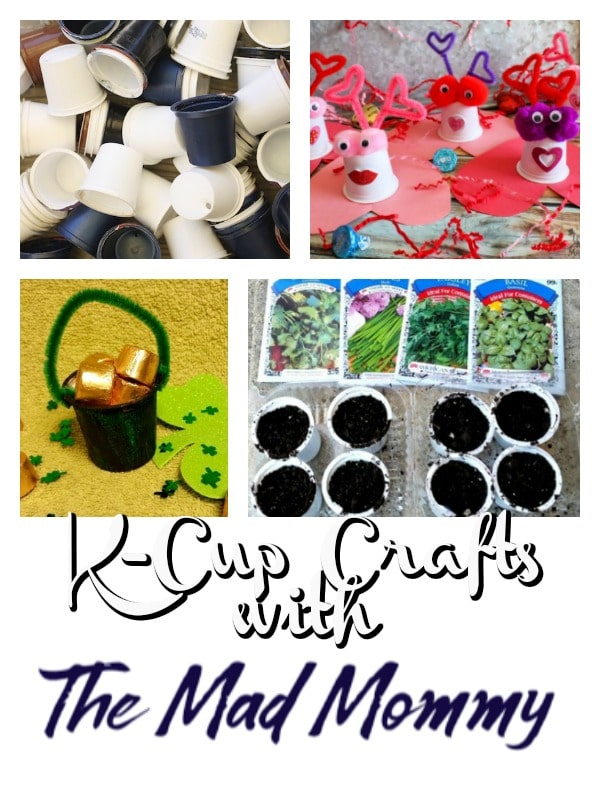 My ultimate goal is to have K-Cup Crafts for each month of the year! I am still working on these by updating the older ones and getting ready to add new ones this year!