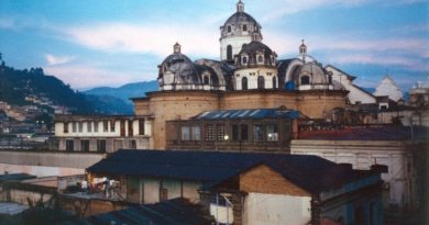 Cathedral in Xela