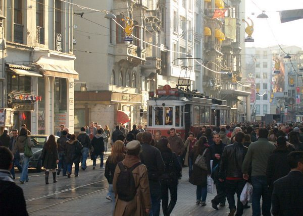 Istiklal Caddesi - Independence Avenue, Istanbul, Turkey
