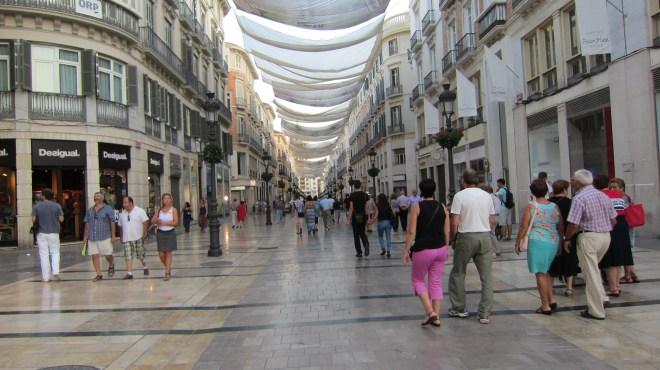 Shops of Larios street