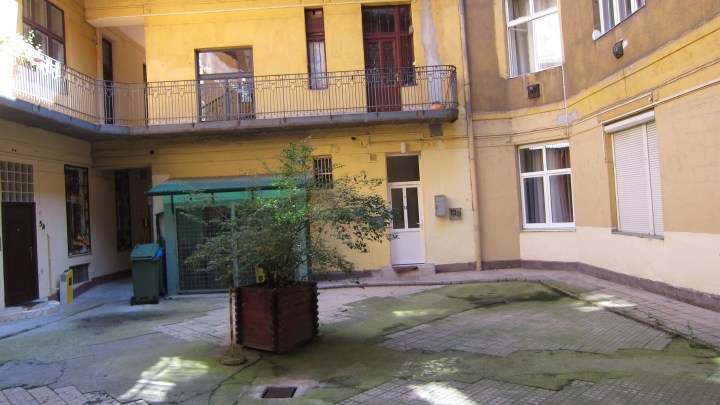 My flatshare in Budapest's Jewish quarter.  When the ghetto was operational thousands of people would be living here
