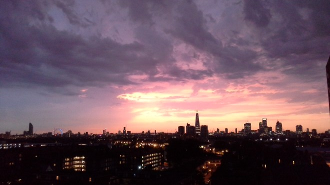 View from my South London home