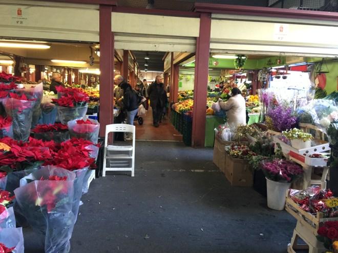 The regular indoor market
