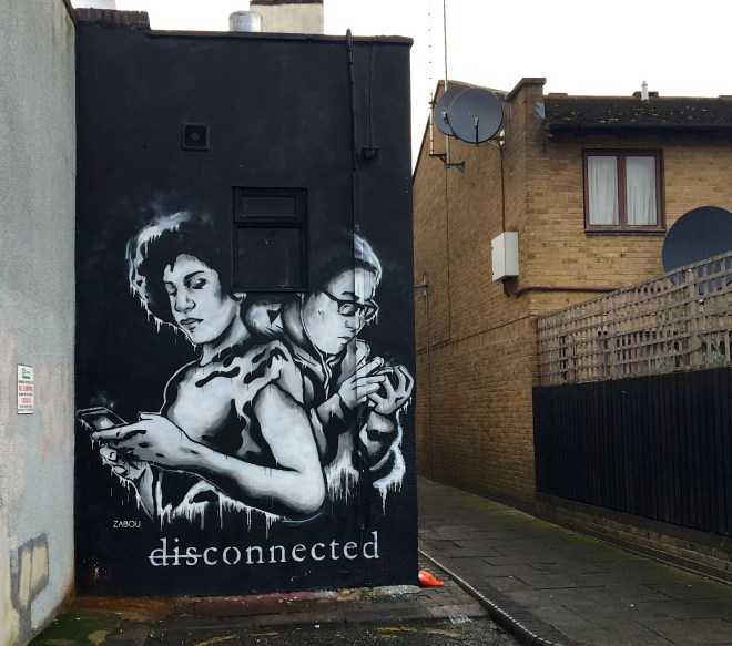 Of course plenty of free art around on the streets if you look for it and you know I never miss a chance to photograph graffiti. This: Camden Hawley Road (they stole the old market and left us this instead).