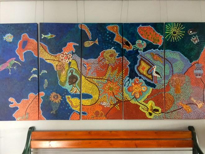 Some art at City Hall